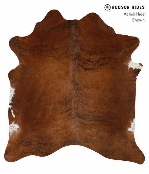 Medium Brindle Cowhide Rug #15049