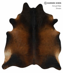 Chocolate Cowhide Rug #15155