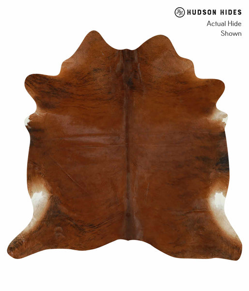 Medium Brindle Cowhide Rug #15225