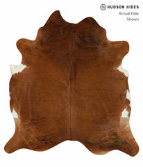 Medium Brindle Cowhide Rug #15258