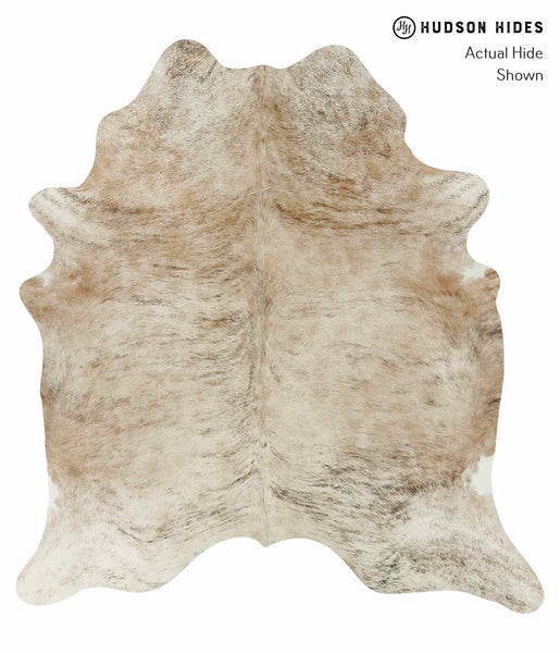 Light Brindle Cowhide Rug #15265