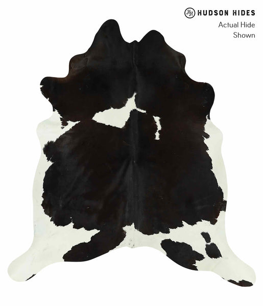 Black and White Cowhide Rug #15472