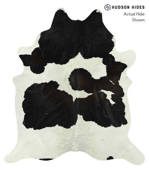Black and White Cowhide Rug #15483