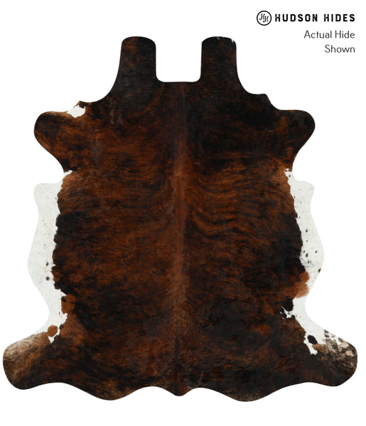 Dark Brindle Cowhide Rug #15711