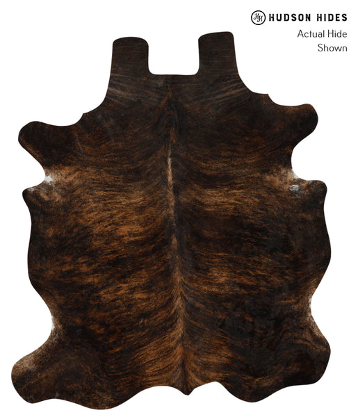 Dark Brindle Cowhide Rug #15863
