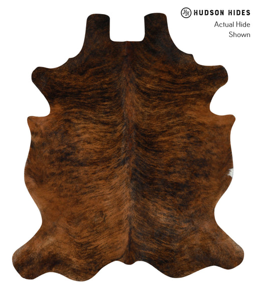Dark Brindle Cowhide Rug #15985