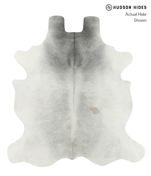 Medium Grey Cowhide Rug #16002