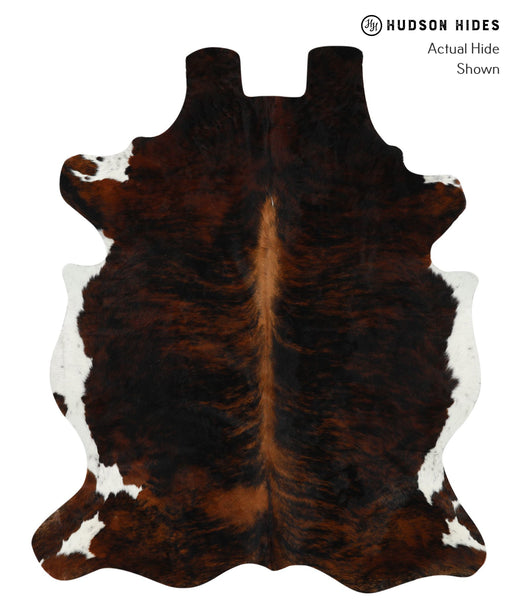 Dark Brindle Cowhide Rug #16024