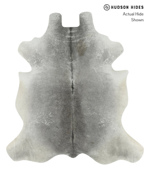 Medium Grey Cowhide Rug #17623