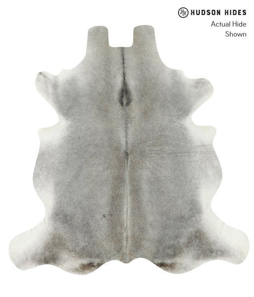 Medium Grey Cowhide Rug #17624