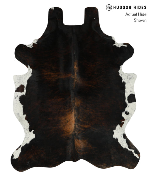 Dark Brindle Cowhide Rug #17682