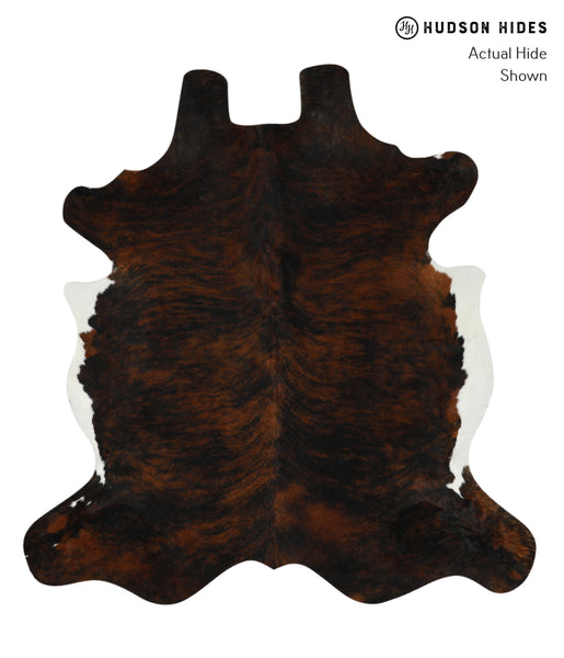 Dark Brindle Cowhide Rug #17790