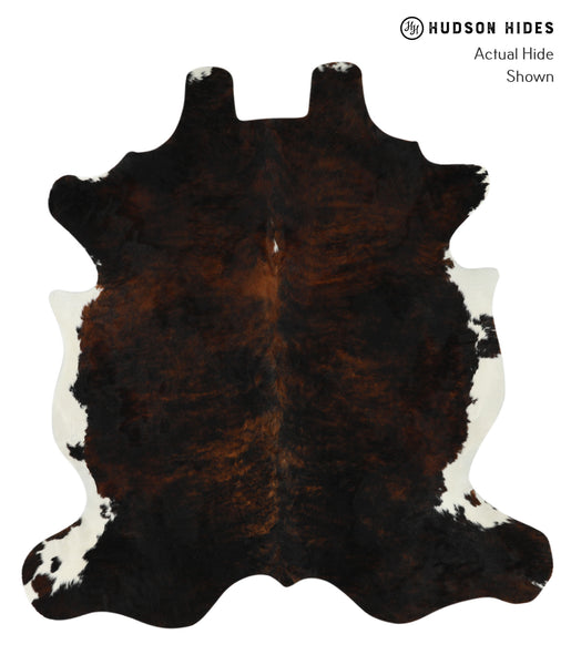 Dark Brindle Cowhide Rug #17791
