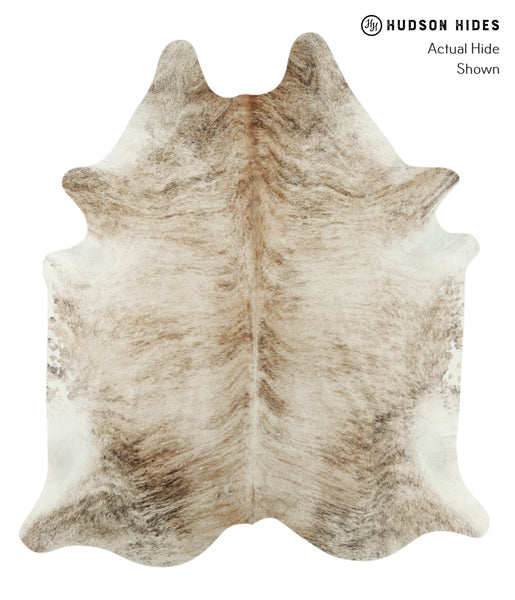 Light Brindle Cowhide Rug #18139