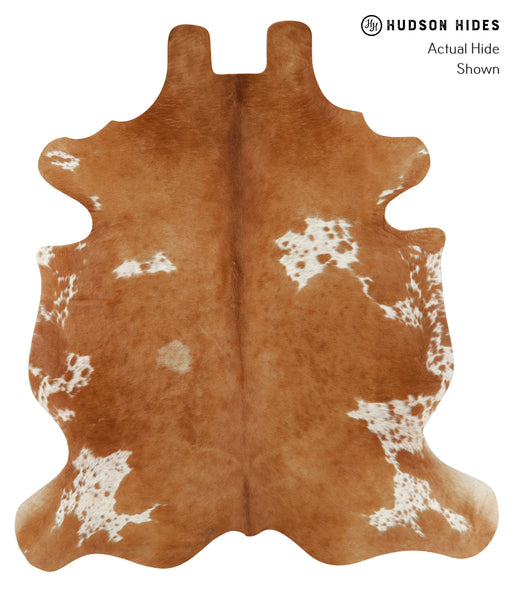 Salt and Pepper Brown Cowhide Rug #20512