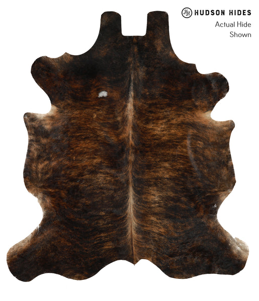 Dark Brindle Cowhide Rug #20650