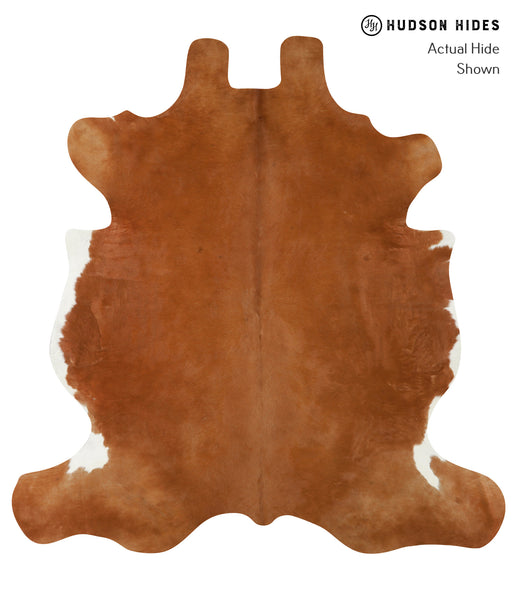 Solid Brown Cowhide Rug #20729