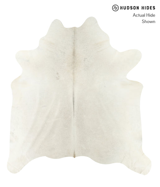 Solid White Cowhide Rug #22469