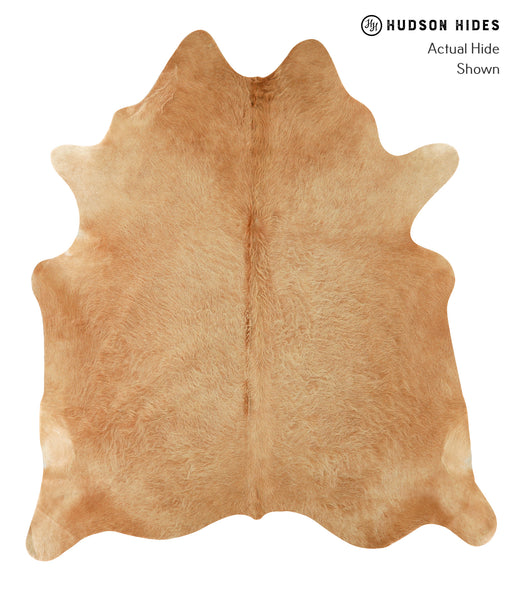 Solid Brown Cowhide Rug #22626