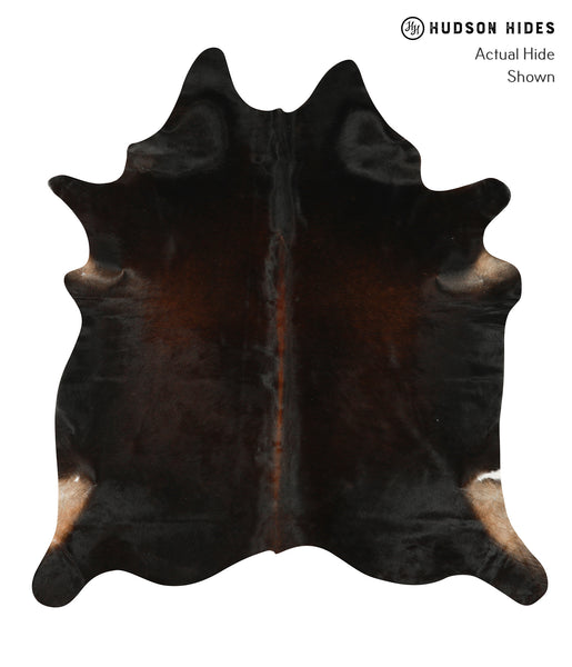 Chocolate Cowhide Rug #22752