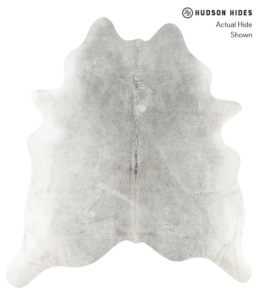 Medium Grey Cowhide Rug #23177