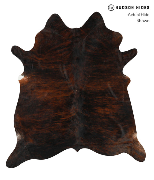 Dark Brindle Cowhide Rug #23188