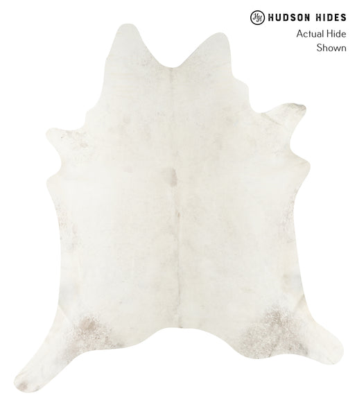 Solid White Cowhide Rug #23195