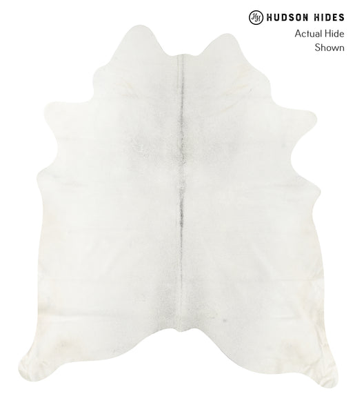 Solid White Cowhide Rug #23197