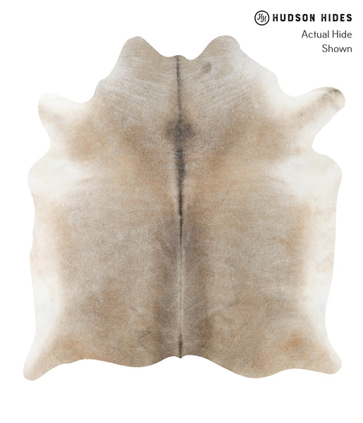 Grey with Beige Cowhide Rug #23347