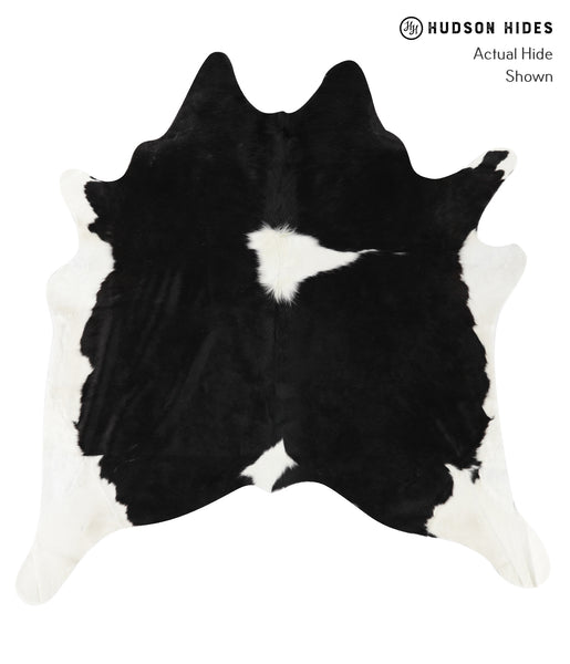 Black and White Cowhide Rug #23377