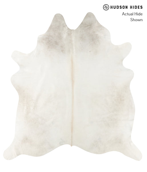 Solid White Cowhide Rug #23384