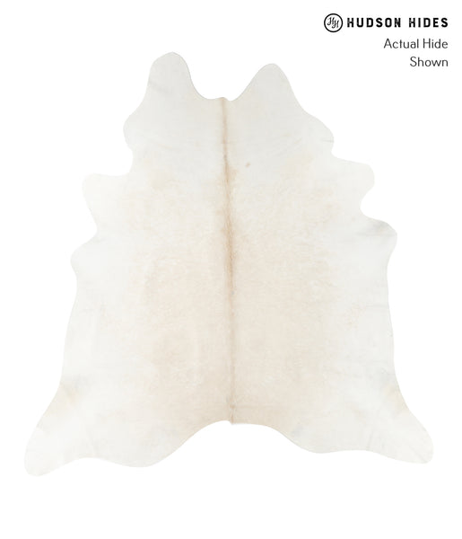 Solid White Cowhide Rug #23406