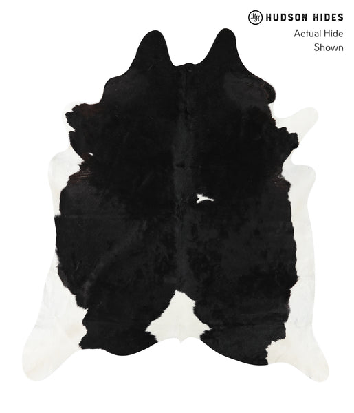 Black and White Cowhide Rug #23434