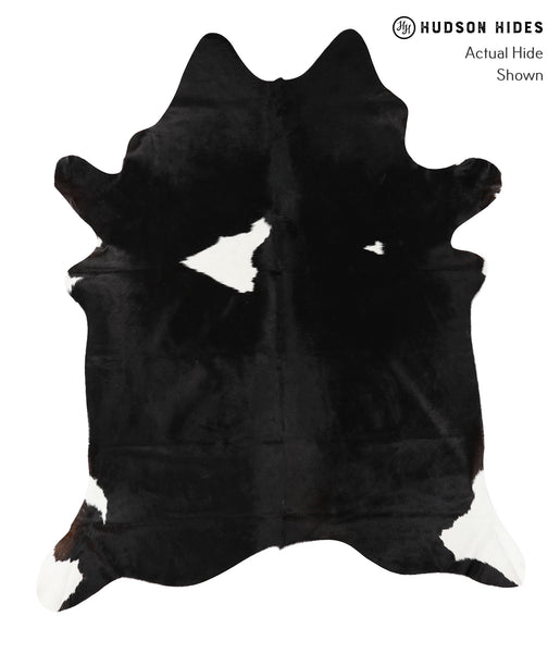 Black and White Cowhide Rug #23452