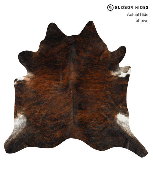 Dark Brindle Cowhide Rug #23836