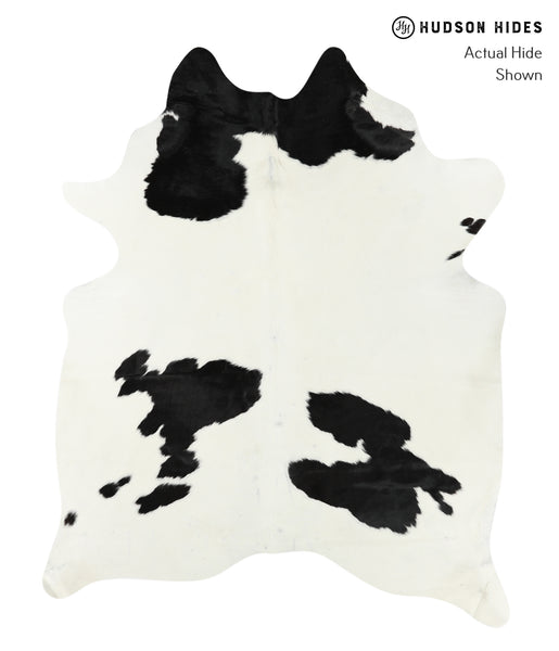 Black and White Cowhide Rug #24663