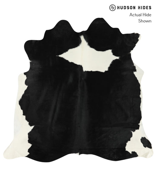 Black and White Cowhide Rug #24671