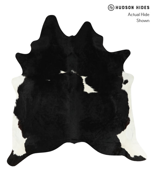 Black and White Cowhide Rug #24715
