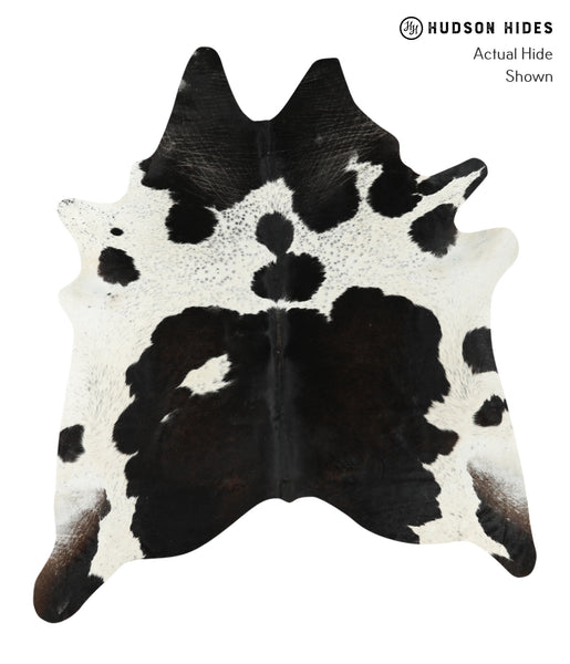 Black and White Cowhide Rug #24731