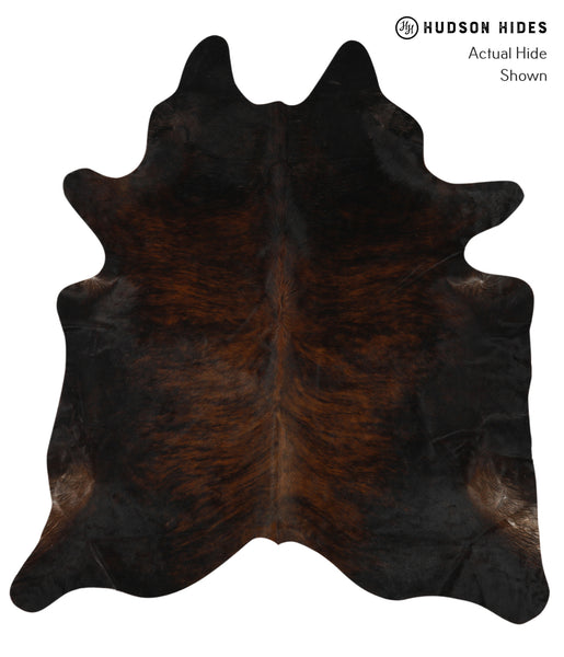 Dark Brindle Cowhide Rug #24754