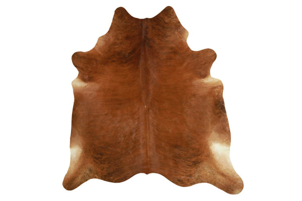 Medium Brindle Brazilian Cowhide Rug