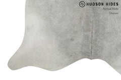 Medium Grey XX-Large Brazilian Cowhide Rug 8'1