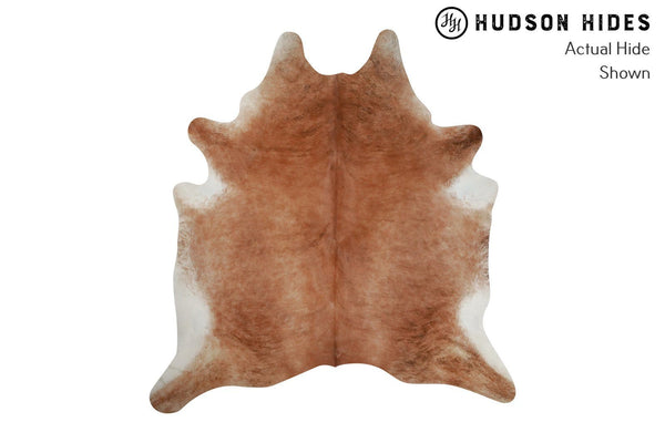 Brown Reddish Cowhide Rug #8232