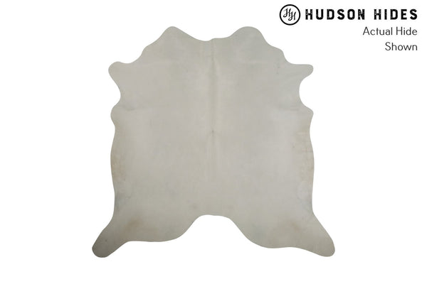 Solid White Cowhide Rug #8258