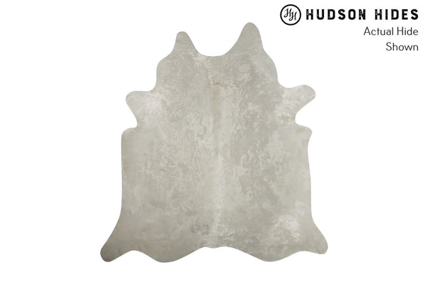 Solid White Cowhide Rug #8288