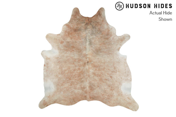 Light Brindle Cowhide Rug #8936
