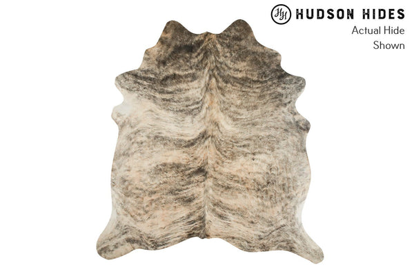 Light Brindle Cowhide Rug #9094