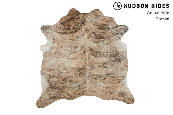 Light Brindle Cowhide Rug #9095