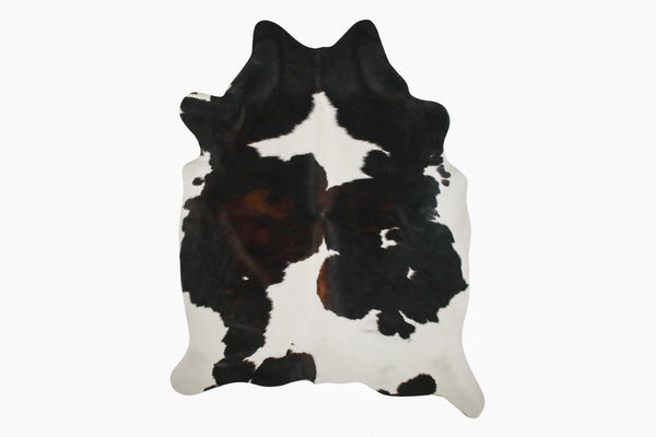 Black And White Cowhide Rug #9159