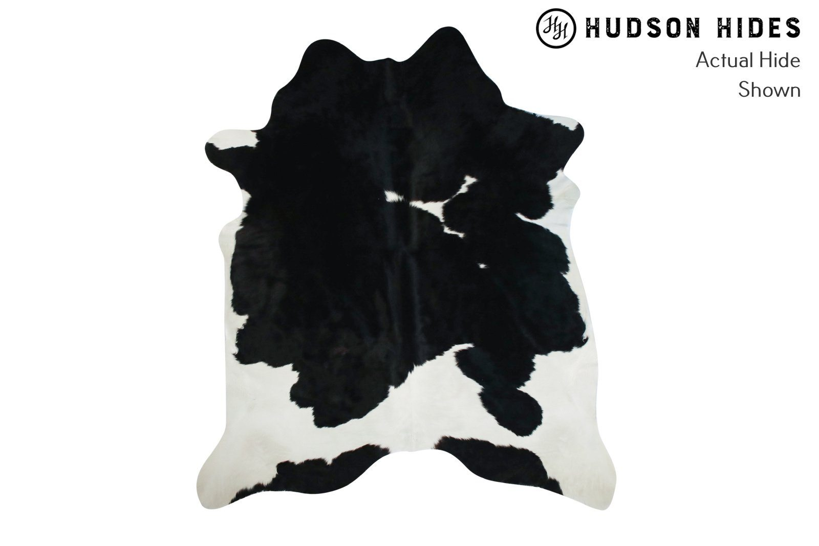 Black And White Cowhide Rug #9228